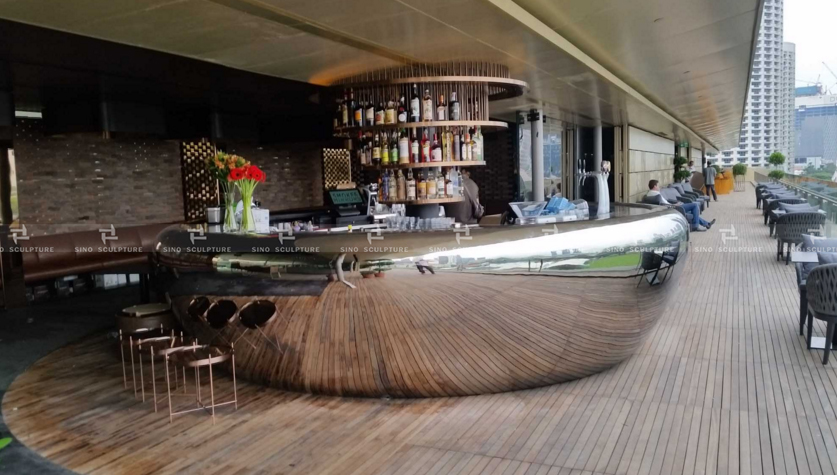 The Bar counter table for Singapore national gallery - Sculpture ...