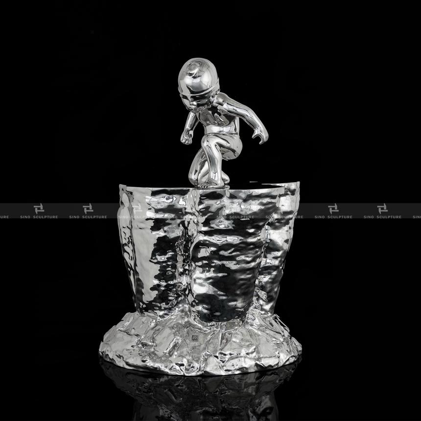 casting stainless steel artwork